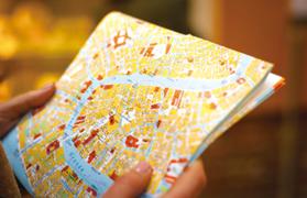 地図パンフレット